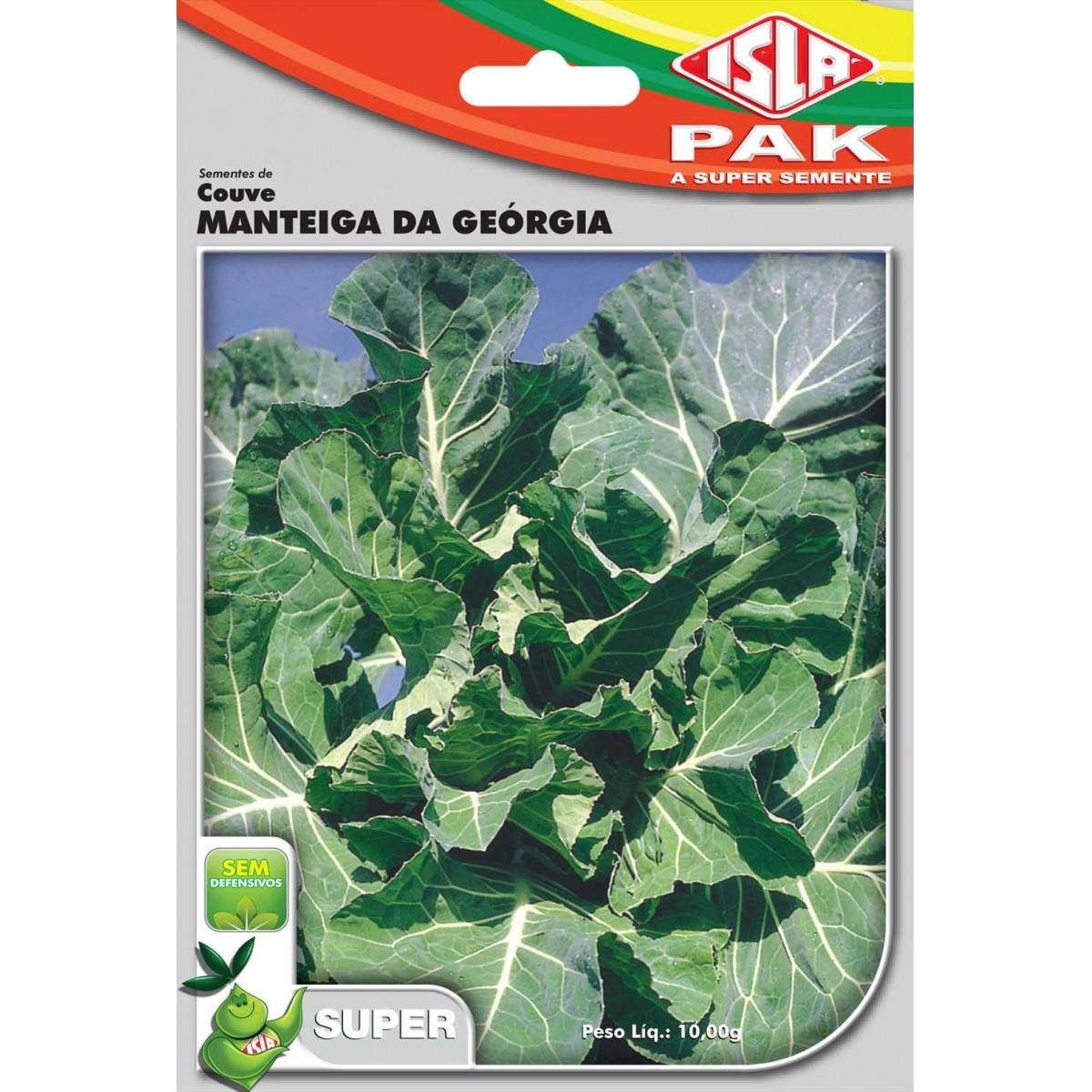 Sementes de Couve Manteiga da Geórgia - Isla Superpak