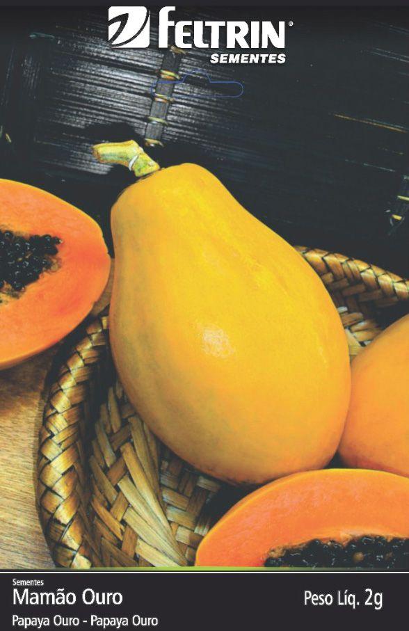 Sementes de Mamão Papaya Ouro - Feltrin Linha Golden