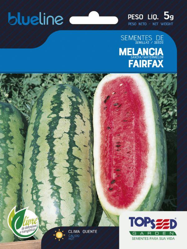 Sementes de Melancia Fairfax 5g - Topseed Blue Line
