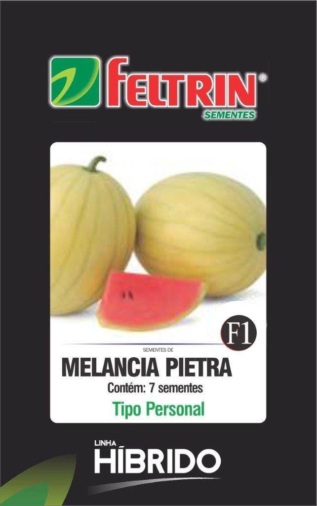Sementes de Melancia Pietra com 7 sementes - Feltrin Linha Híbrido