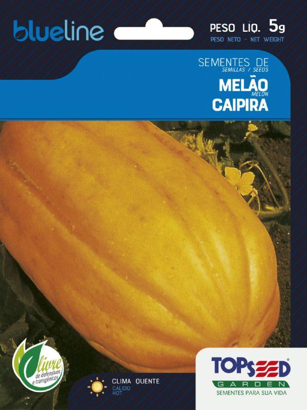Sementes de Melão Caipira 5g - Topseed Blue Line