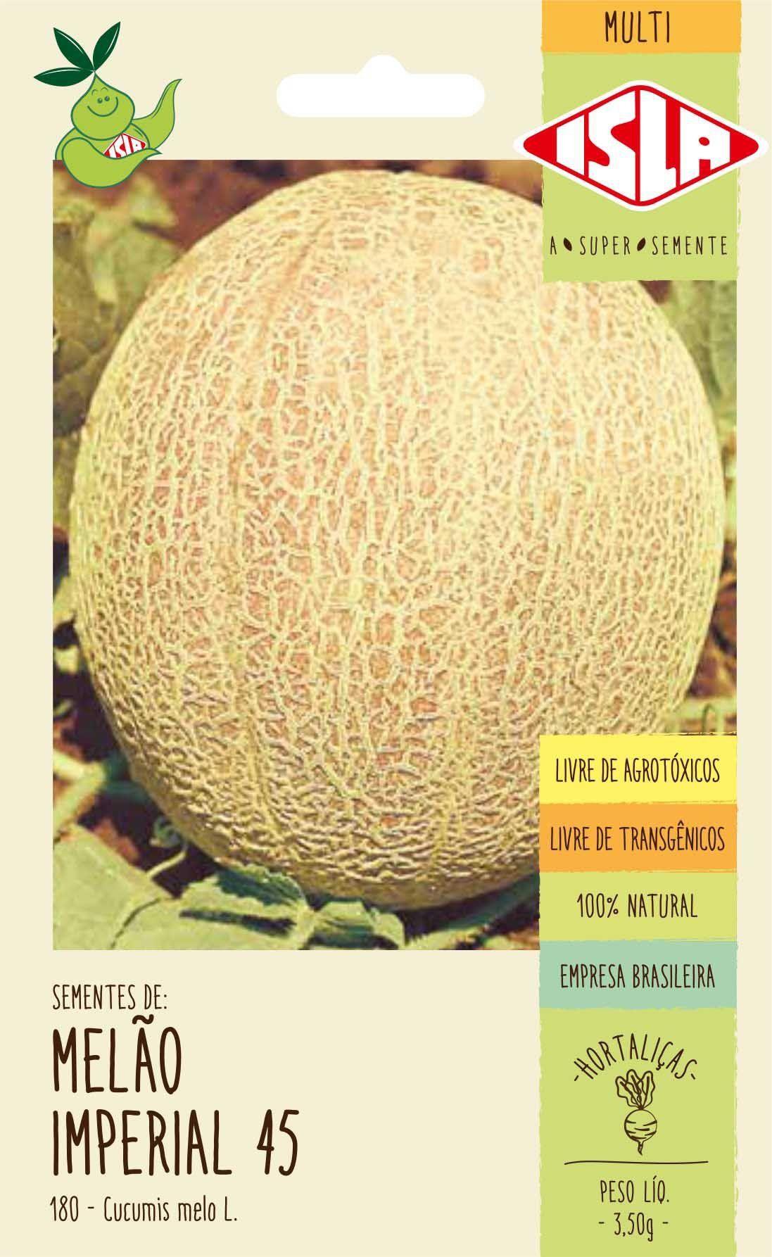 Sementes de Melão Imperial 45 - Isla Multi