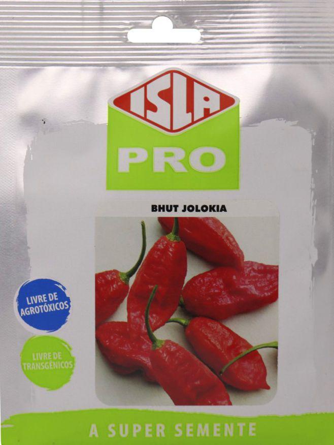 Sementes de Pimenta Aimore Bhut Jolokia Envelope com 10g - Isla Pro