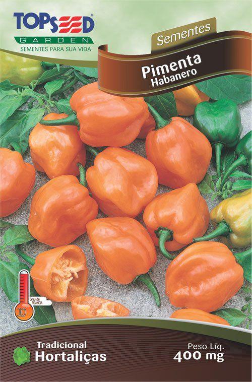 Sementes de Pimenta Habanero - Topseed