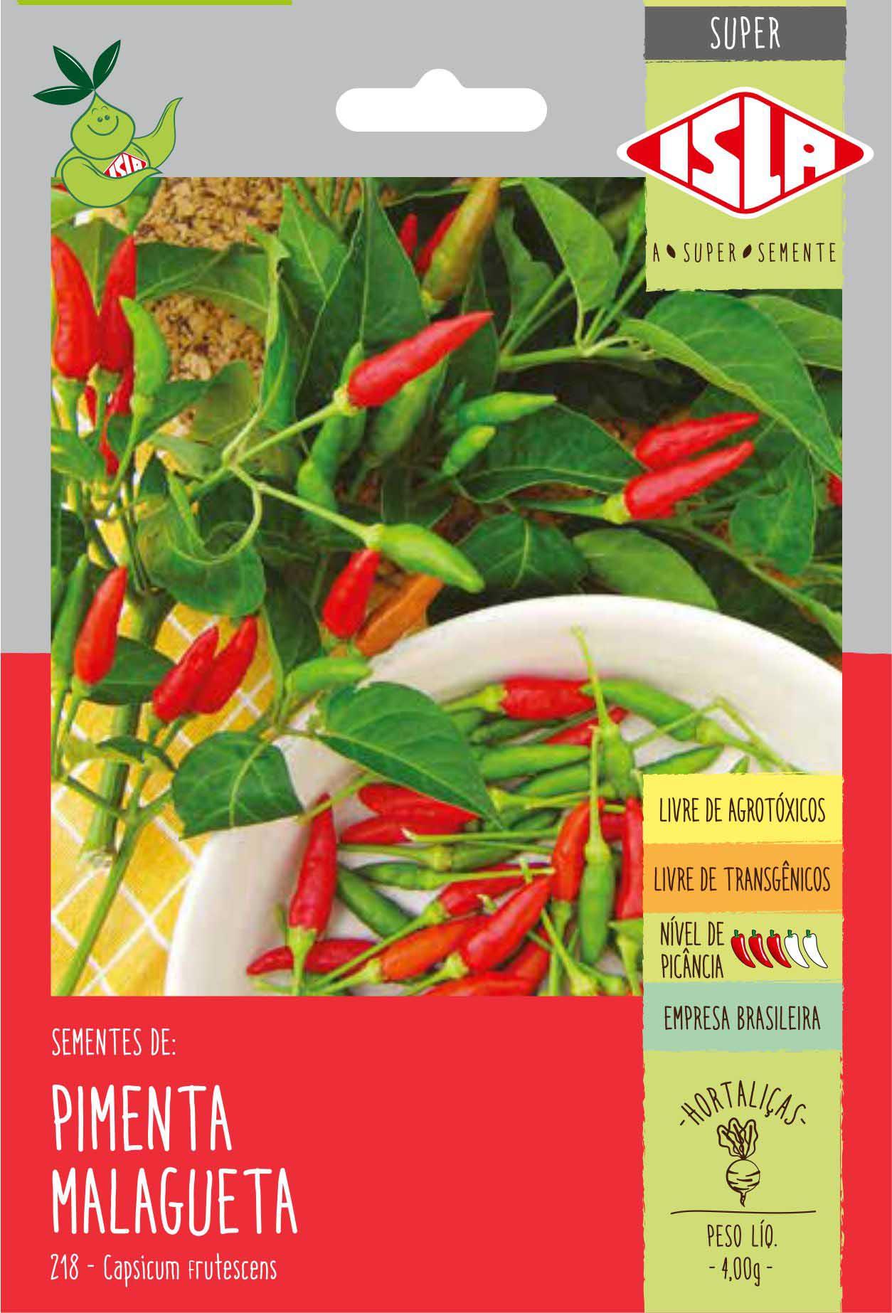 Sementes de Pimenta Malagueta - Isla Superpak