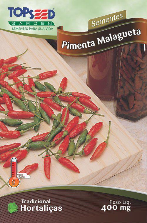Sementes de Pimenta Malagueta - Topseed