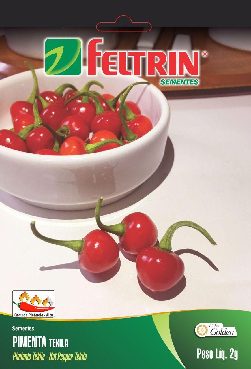 Sementes de Pimenta Tekila Bode Vermelha - Feltrin Linha Golden