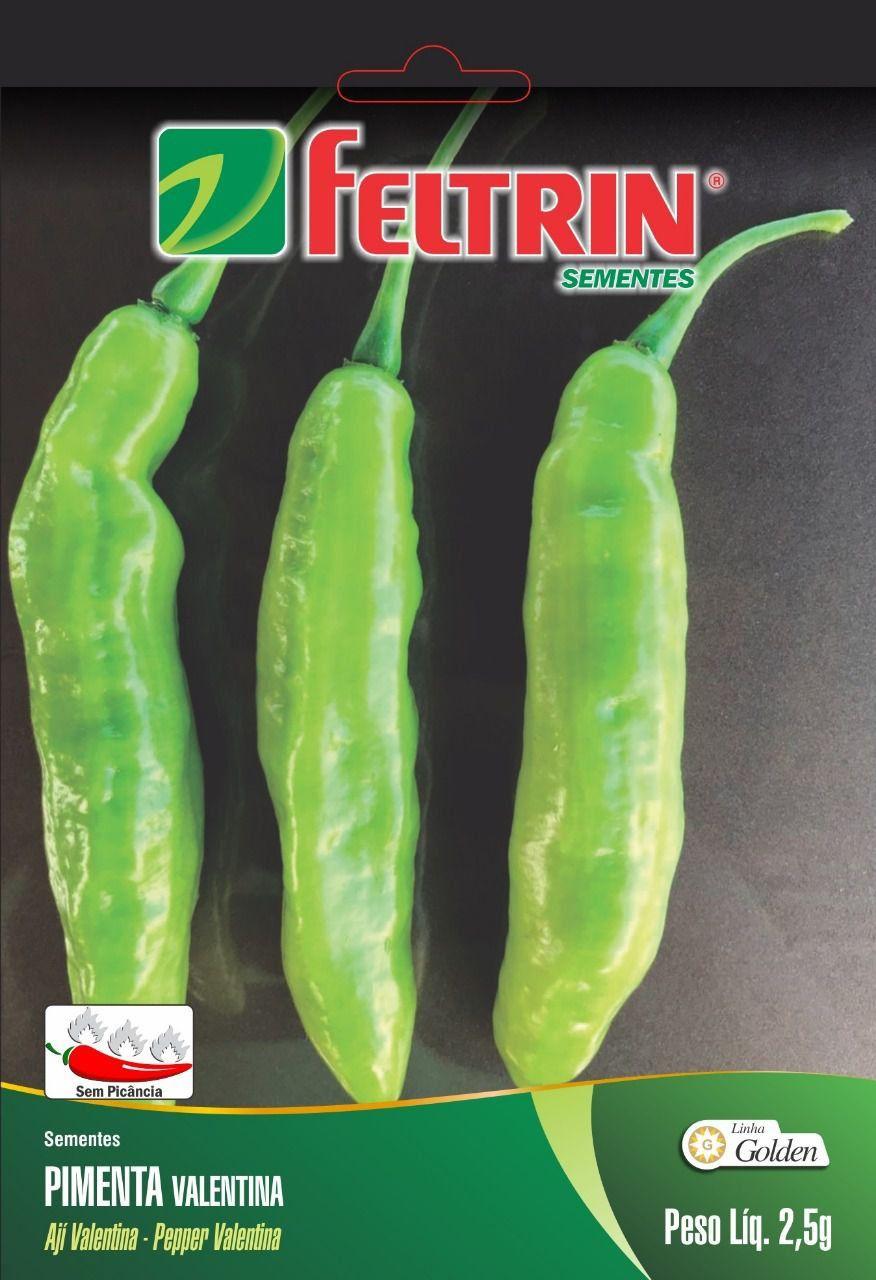 Sementes de Pimenta Valentina 2,5g - Feltrin Linha Golden