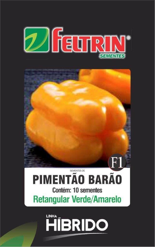 Sementes de Pimentão Barão com 10 sementes - Feltrin Linha Híbrido