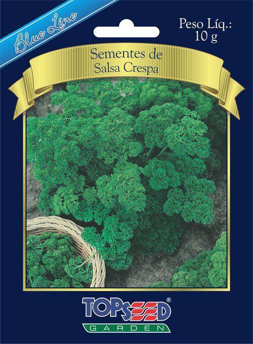 Sementes de Salsa Crespa 10g - Topseed Blue Line