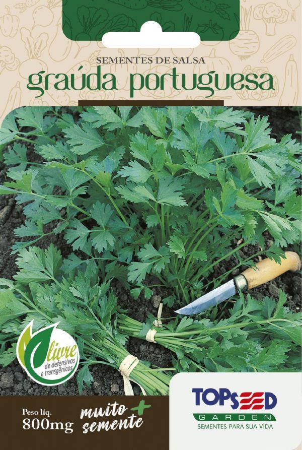 Sementes de Salsa Graúda Portuguesa 800mg - Topseed Linha Tradicional