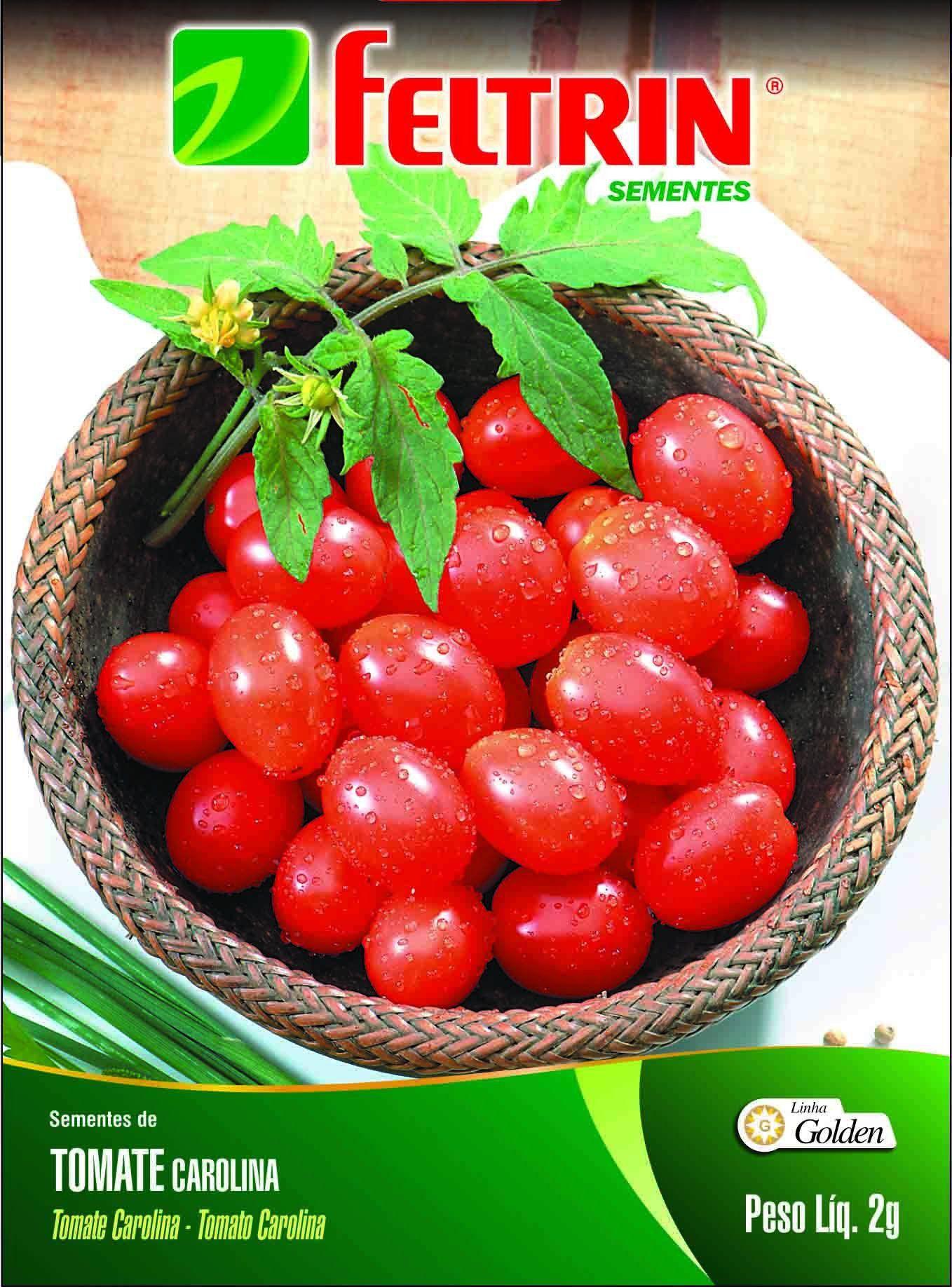 Sementes de Tomate Carolina - Feltrin Linha Golden