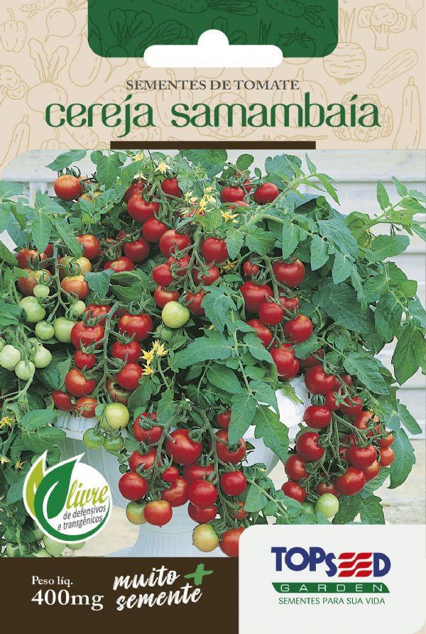 Sementes de Tomate Cereja Samambaia 400mg - Topseed Linha Tradicional