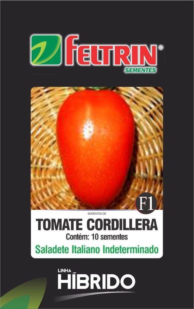 Sementes de Tomate Cordillera com 10 sementes - Feltrin Linha Híbrido