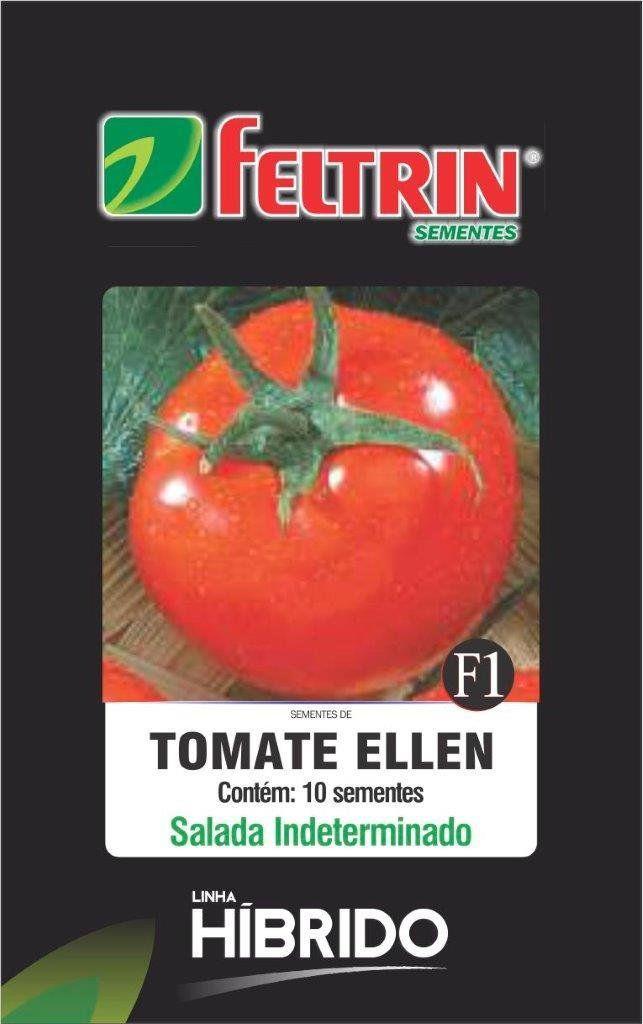 Sementes de Tomate Ellen F1 com 10 sementes - Feltrin Linha Híbrido