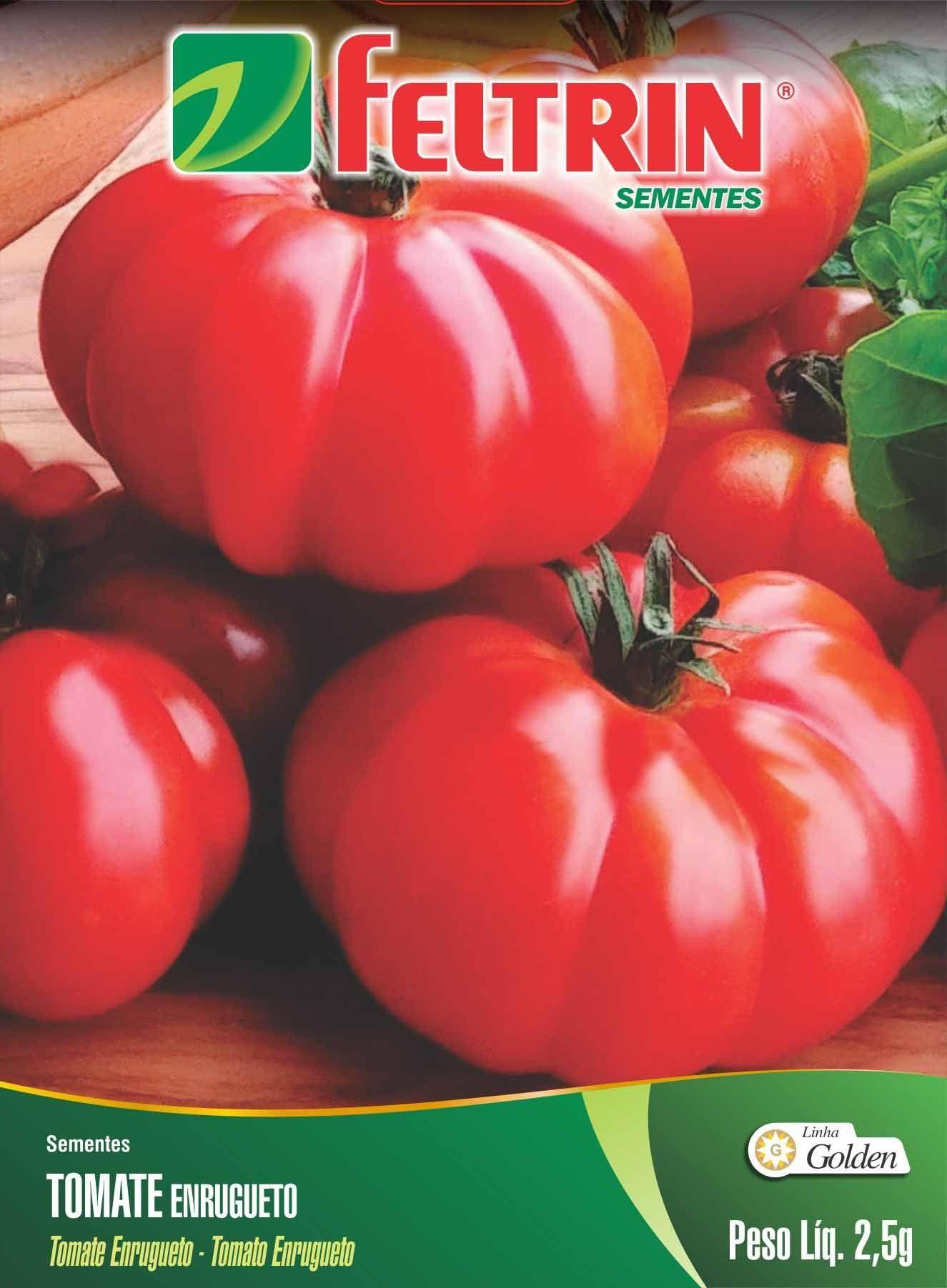 Sementes de Tomate Enrugueto 2,5g - Feltrin Linha Golden