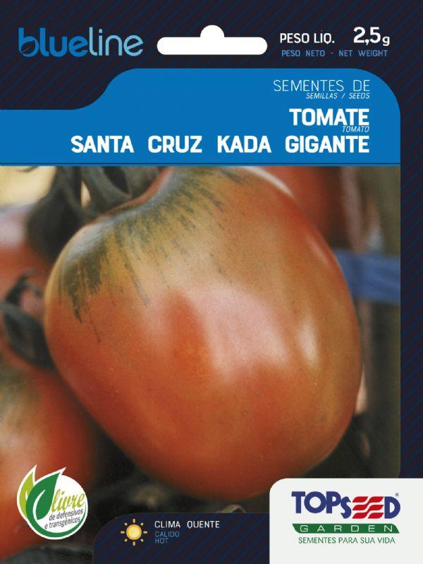 Sementes de Tomate Santa Cruz Kada Gigante 2,5g - Topseed Blue Line