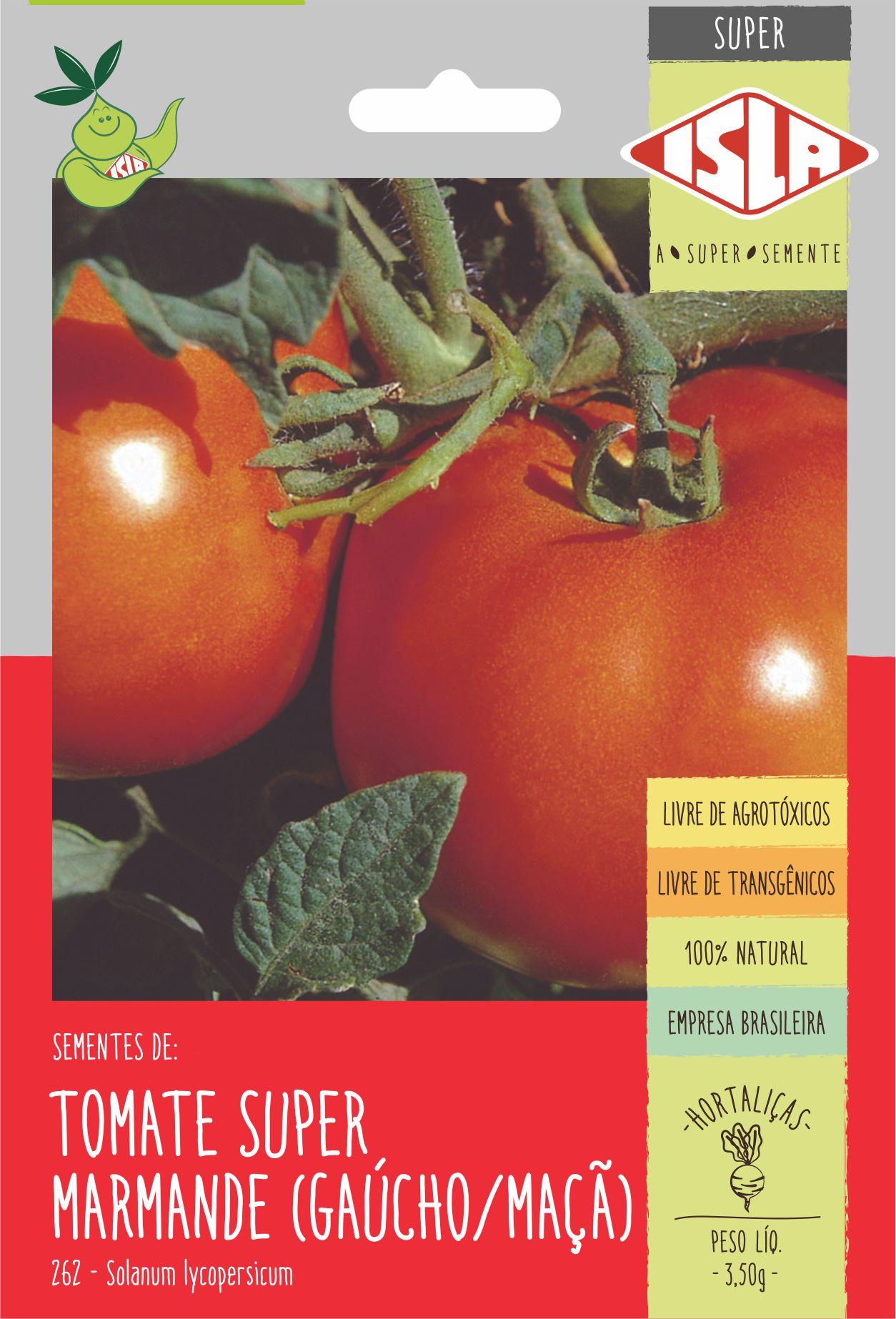 Sementes de Tomate Super Marmande (Gaúcho/Maçã) - Isla Superpak