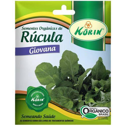 Sementes Orgânicas de Rúcula Giovana 0,1g - Korin