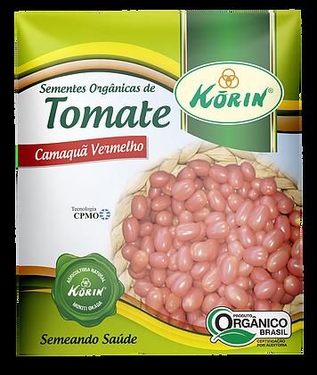 Sementes Orgânicas de Tomate Camaquã Vermelho 0,5g - Korin