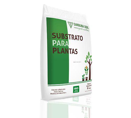 Substrato Carolina Soil Orgânico 8kg com IBD