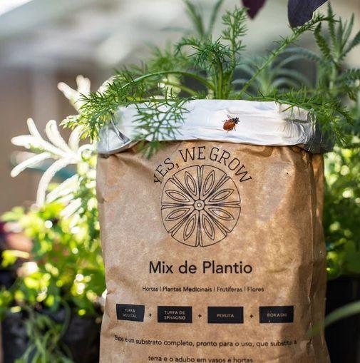 Substrato Mix de Plantio Orgânico 1 litro