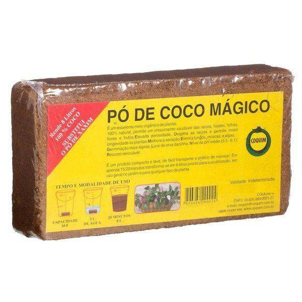 Substrato Pó de Coco Mágico 400g COQUIM