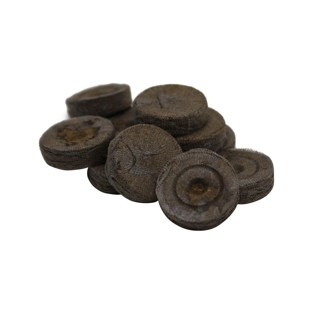 Célula de Germinação Jiffy Pellet 30mm x 40mm kit com 10 unidades