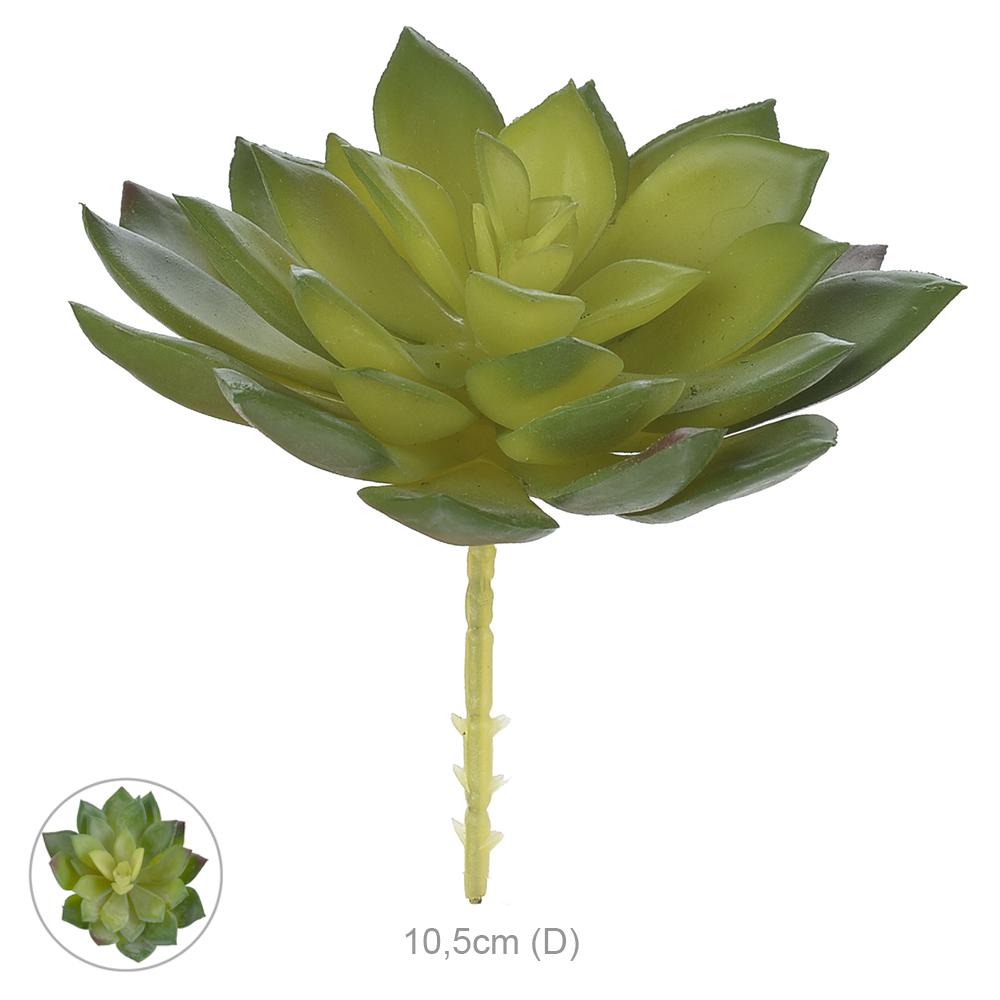Suculenta Artificial Verde 10cm - 35031001