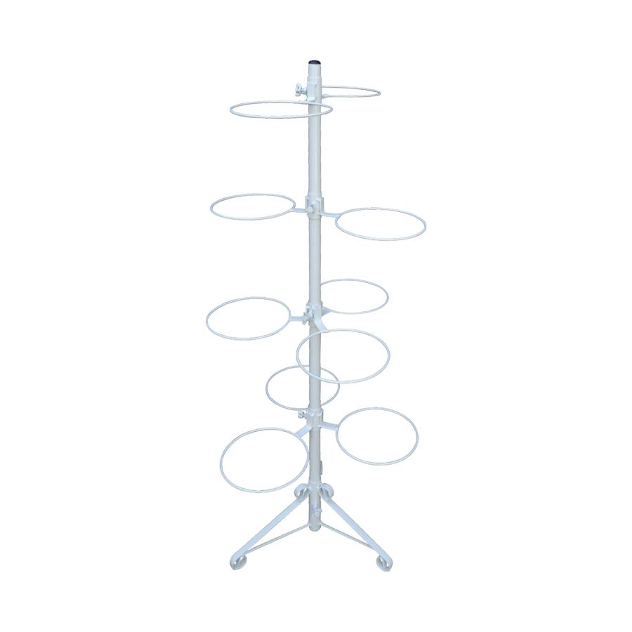 Suporte Branco 2.0 para 10 Vasos Autoirrigáveis Tamanho Médio N03 Raiz (Não acompanha vasos e plantas)