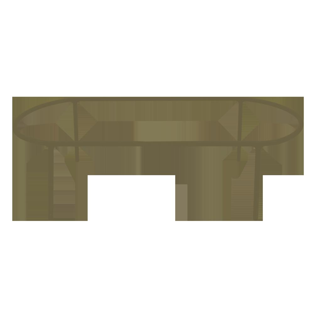 Suporte Cumbuca Bronze Baixo Coleção Cumbuca por Rosenbaum e o Fetiche