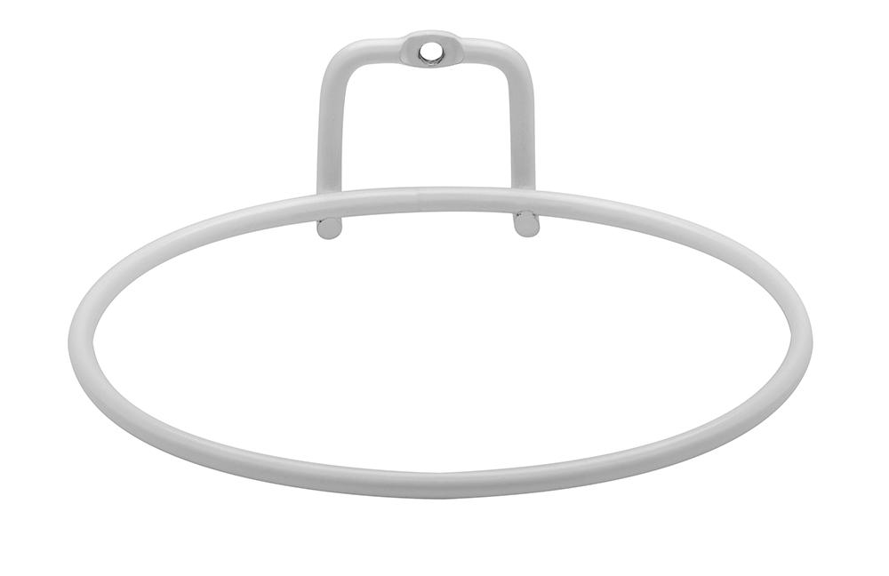 Suporte de Parede Branco para Vaso Autoirrigável Pequeno Linha Plantar <Ou>