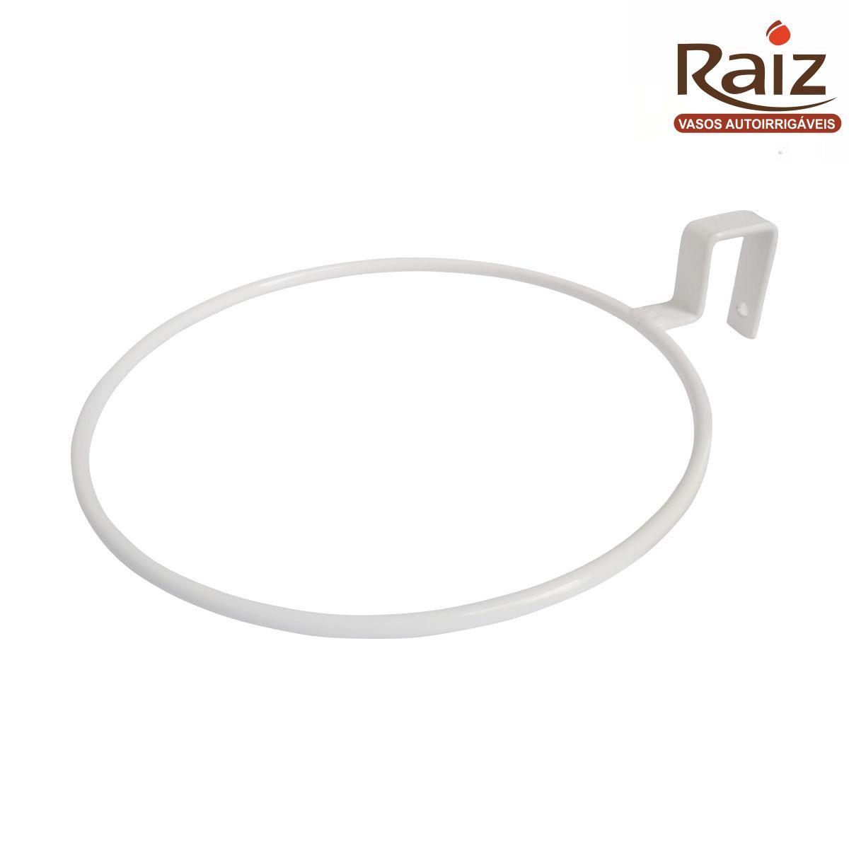 Suporte de Treliça Branco para Vaso Autoirrigável Grande RAIZ