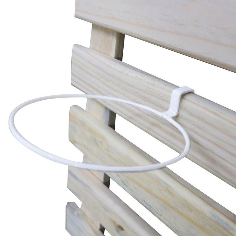 Suporte de Treliça Branco para Vaso Autoirrigável Médio Linha Plantar
