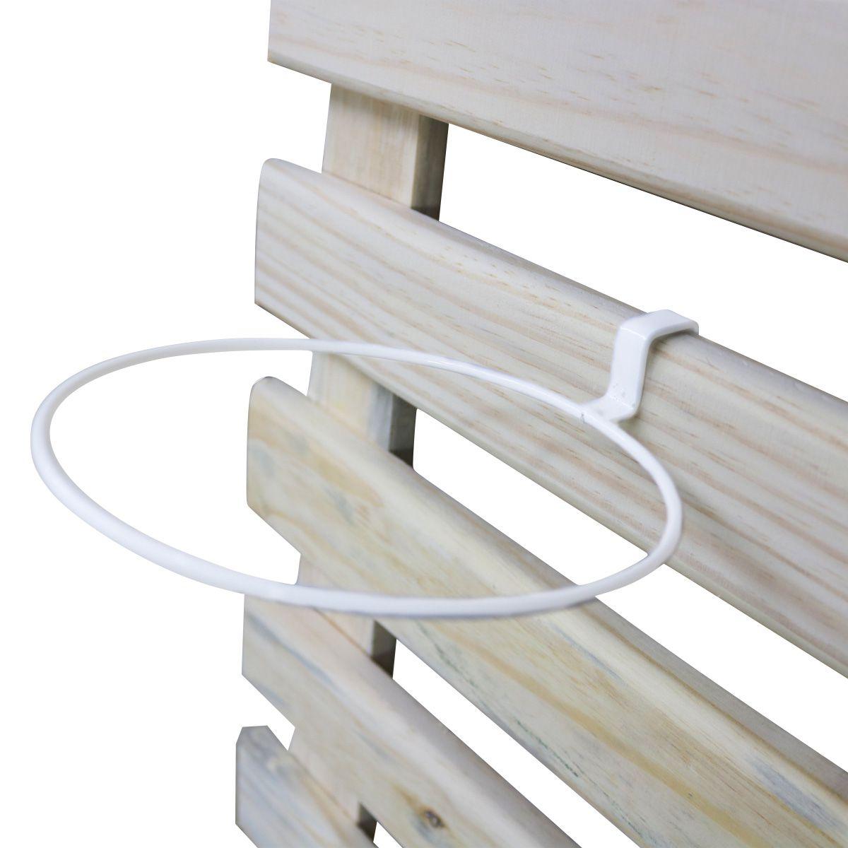 Suporte de Treliça Branco para Vaso Autoirrigável Médio Raiz