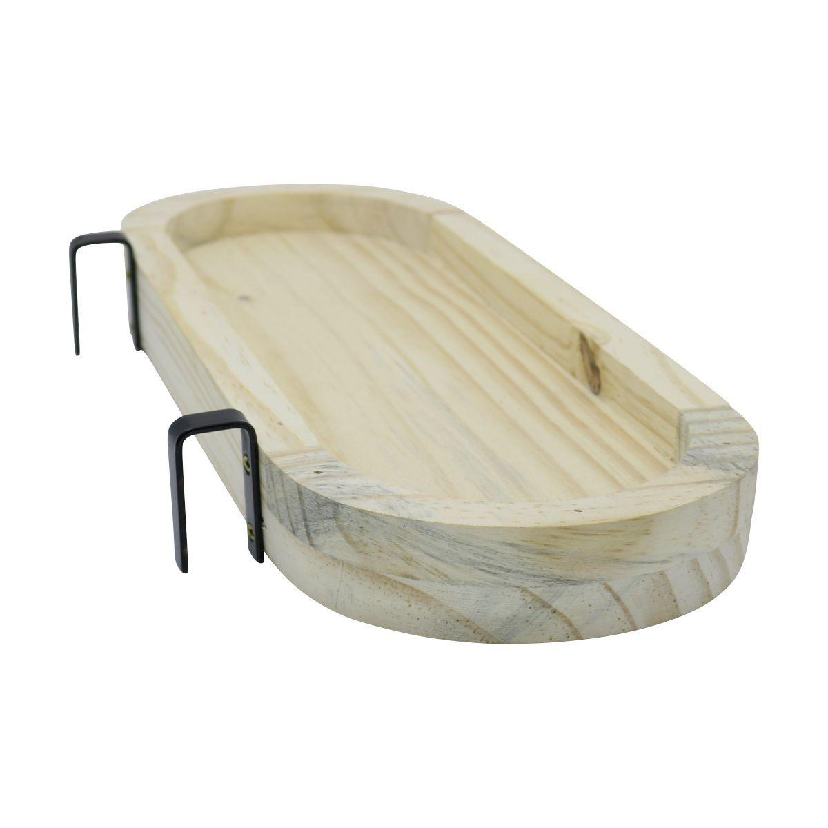 Suporte de Treliça para Jardineira Autoirrigável Raiz em madeira pinus