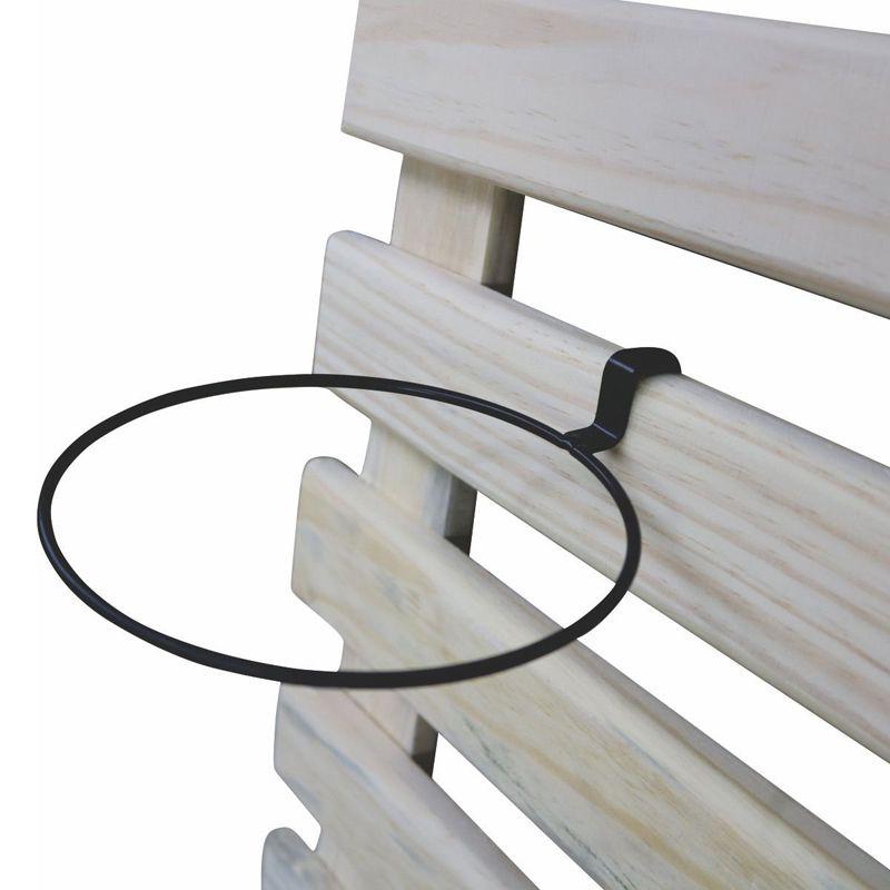 Suporte de Treliça Preto para Vaso Autoirrigável Pequeno Linha Plantar