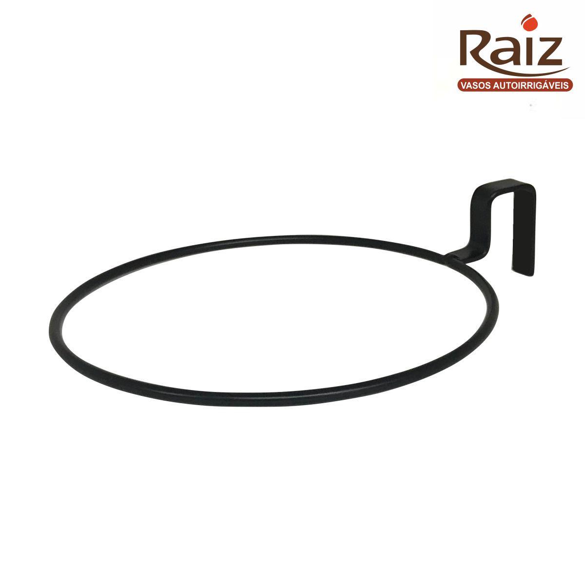 Suporte de Treliça Preto para Vaso Autoirrigável Pequeno RAIZ