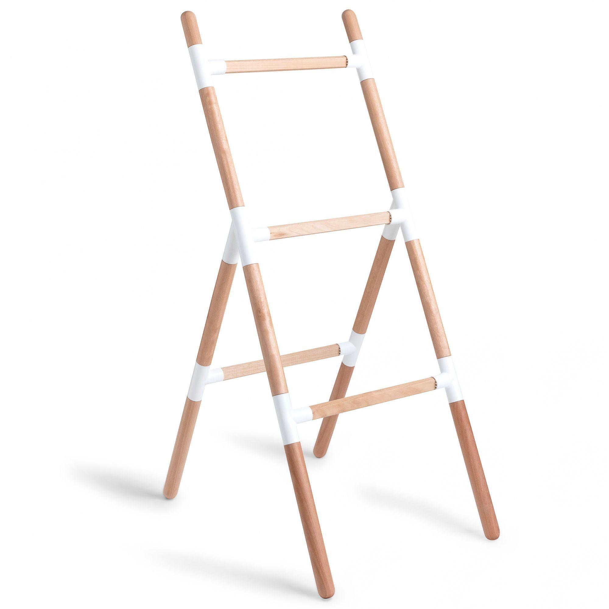 Suporte Escada Eleve Raiz 3 Níveis Branco