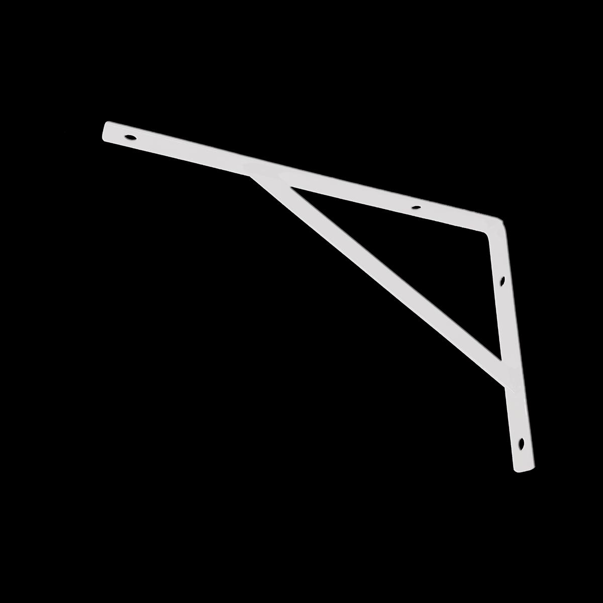 Suporte Mão Francesa Branco 15cm de altura x 25cm de comprimento