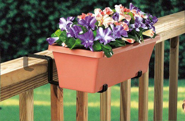 Suporte para jardineiras, varandas e sacadas - Braço ajustável
