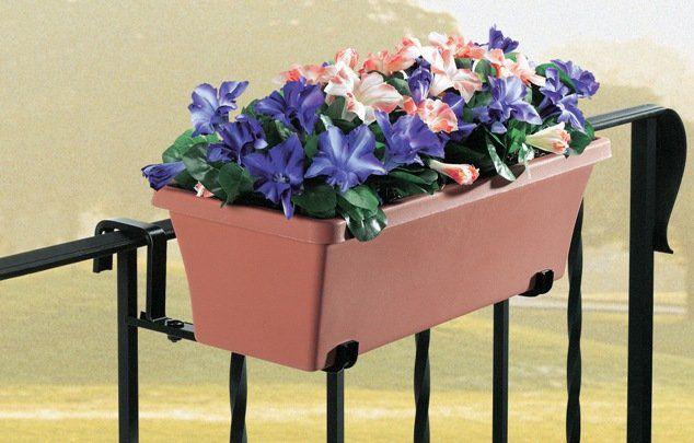 Suporte para jardineiras, varandas e sacadas - Braço fixo
