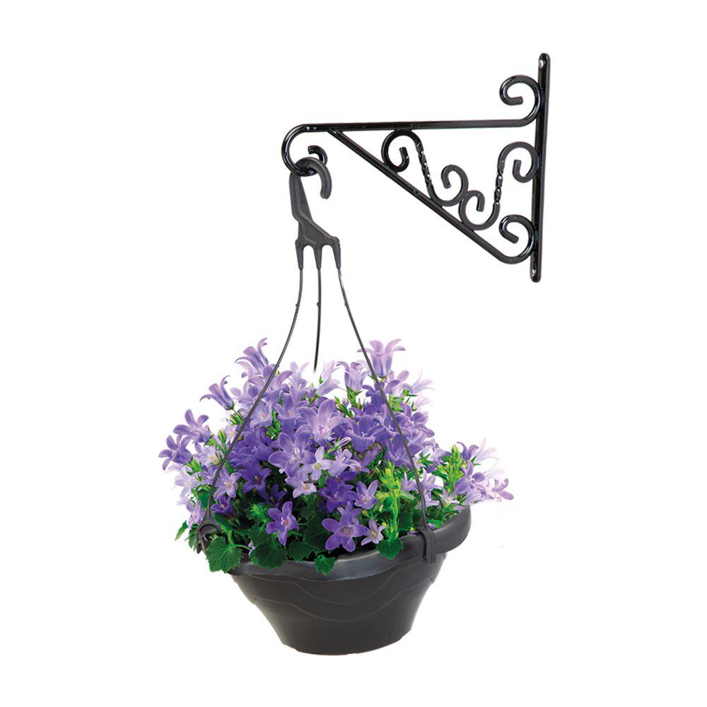 Suporte para Pendurar Vasos de Plantas Mesclado 25cm x 21cm