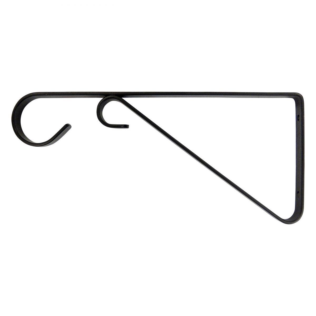 Suporte para vasos 30 cm - Preto