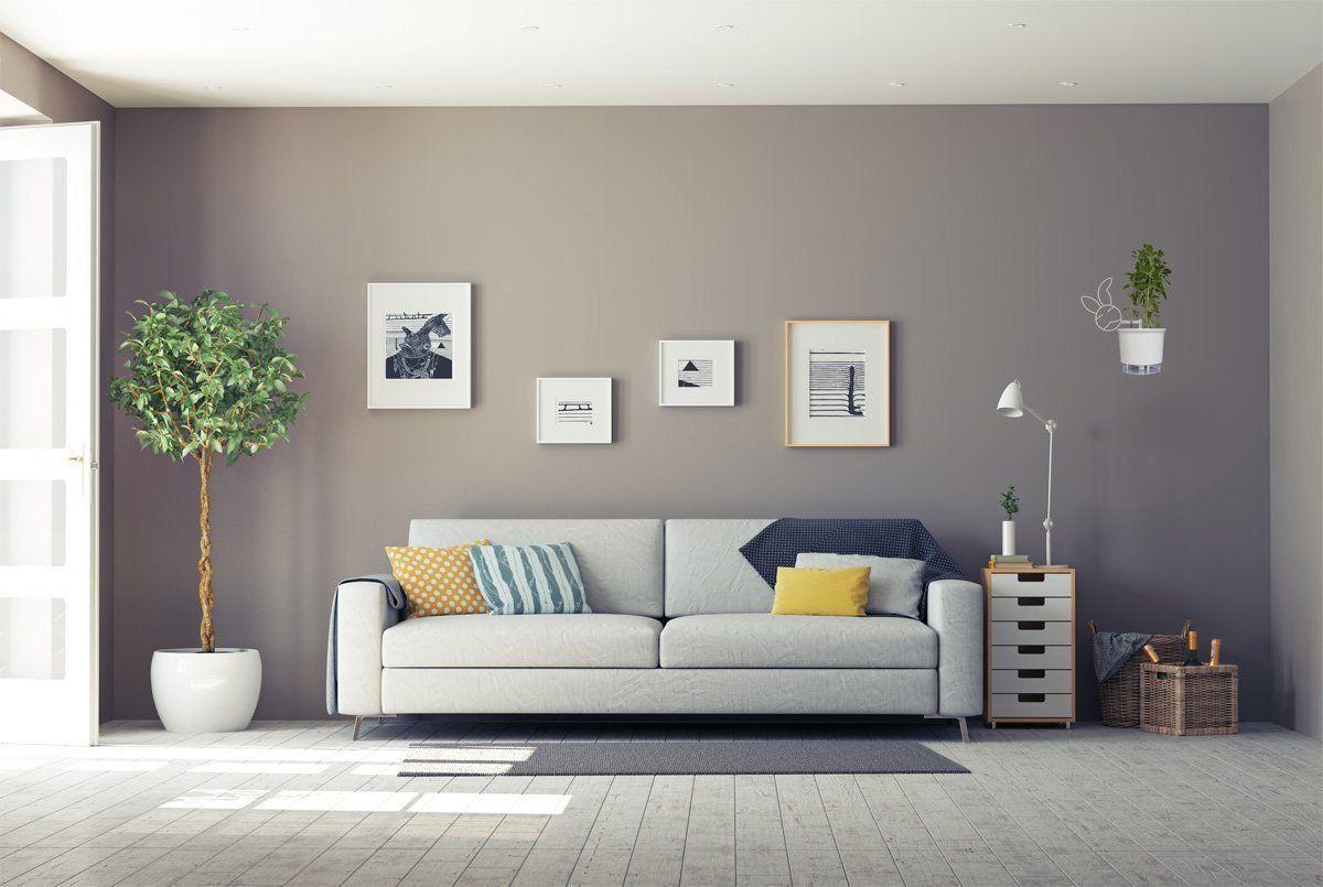Suporte para Vasos de Plantas Branco de Parede Coelhinho para Vaso Autoirrigável Médio N03
