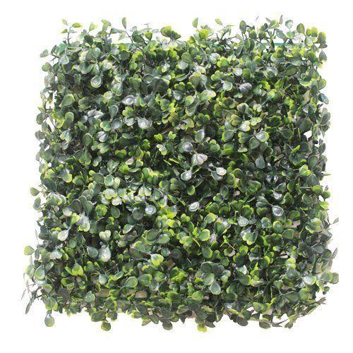 Tapete de Buxinho artificial Verde 25cm x 25cm