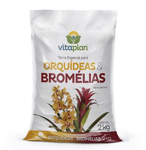 Terra Especial para Orquídeas e Bromélias 2kg Vitaplan
