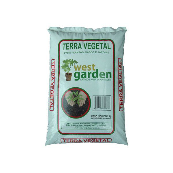 Terra Vegetal 2kg West Garden