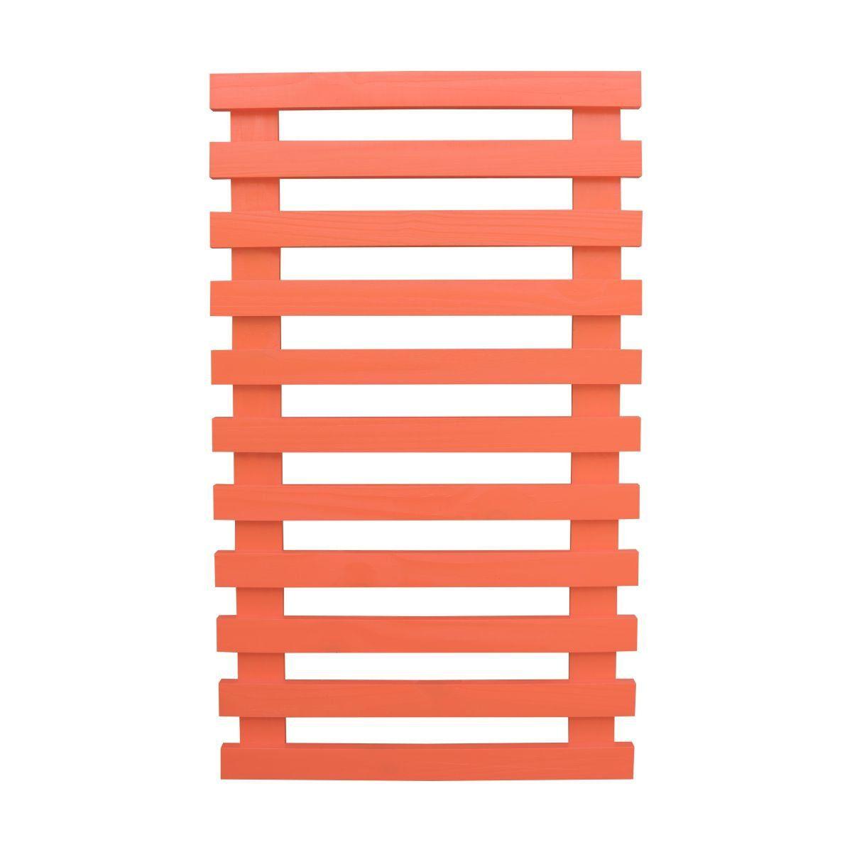 Treliça de madeira 100cm x 60cm para jardim vertical Coral