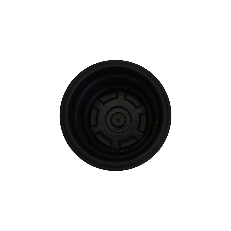 Vasinho plástico Preto 9cm x 12cm - 9498